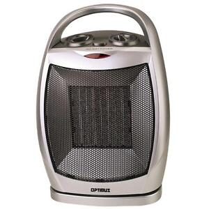 Space Heater Electric Small Portable Ceramic Room Bedroom Compact ...