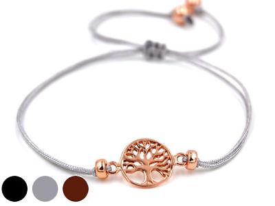 Keltischer Lebensbaum Armband Silber Rosévergoldet Gothic Schmuck - Neu So Effektiv Wie Eine Fee
