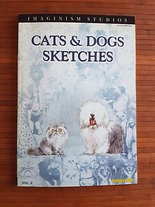 Cats-amp-Dogs-sketches-by-Bobby-Chiu-ILLUSTRATION-BOOK-Imaginism-Studios