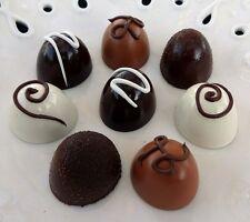 8 FAKE CHOCOLATE TRUFFLES ASSORTMENT