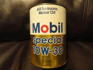 Mobil Special 10w30 Motor Oil Quart Cardboard Can
