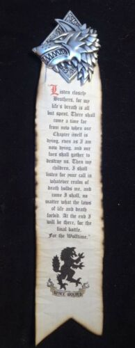 Space Wolf chapter Scroll