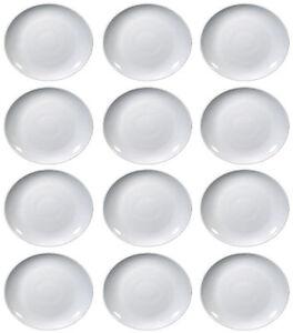 12-Piatti-Bistecca-Ovale-TIVOLI-SATURNIA-di-porcellana-27-5cm-x-24cm-NUOVI