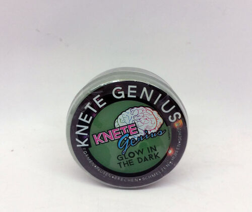 19,95 € pro 100g Knete 20g Genius Anti-Matter Metallic Glow in the Dark kneten