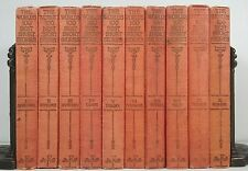 1927~THE WORLDS 100 BEST SHORT STORIES~Antique 10 Red Book Lot~Old Complete Set