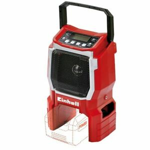 Einhell-Digital-Cordless-Radio-w-Carrying-Handle-Wall-Mounted-TE-CR-18-Li-solo