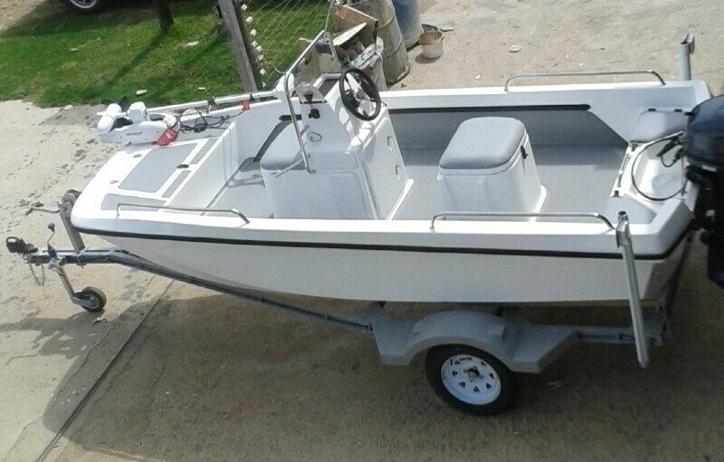 Bandit 410 - Jamieson Boats - Cathedral Hull - Wet deck