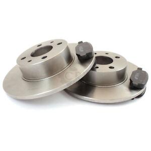 Brake Discs Pads Brake Pads Rear For Nissan Primera Traveller WP11 1.8 16V