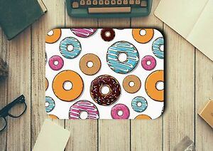 Donuts Mouse Pad Easy Glide Non Slip Tough Neoprene Great Gift Ideas