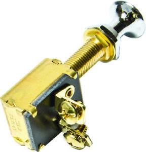 SPST Heavy-Duty Push-Pull Headlight Switch