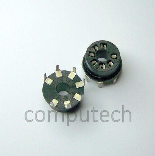 1 pezzo ZOCCOLO 7 poli PER  VALVOLE Sensori  etc CINESCOPI