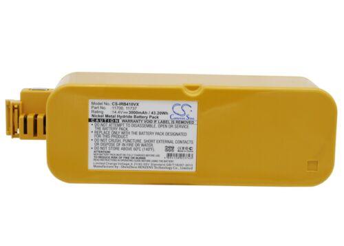 NEW Battery for iRobot 4905 APS 4905 Create 11700 Ni-MH UK Stock