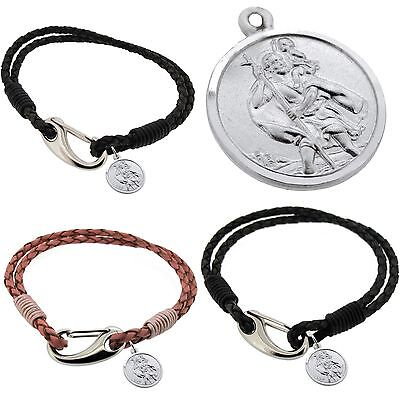 "Personalizzata Incisa Argento 925 Stchristopher Matrimonio Regalo Best Man Usher Sposo-wedding Gift Best Man Groom Usher"" Data-mtsrclang=""it-it Mostra Il Titolo Originale Durevole In Uso"