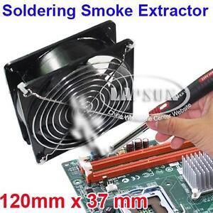 Soldering-Smoke-Absorber-Fume-Extractor-Solder-Cooling-Case-Fan-ESD-220V-120mm