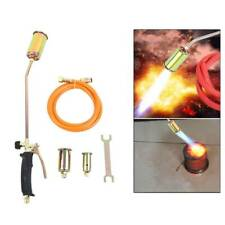 Portable Propane Weed Torch Burner Fire Starter Ice Melter Melting With 3nozzle