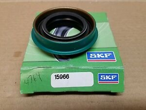 Image is loading New-SKF-Seal-15966-Auto-Trans-Seal-Rear