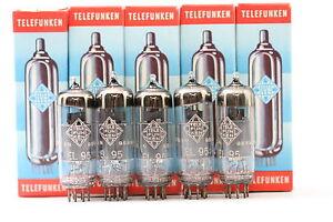 5-X-EL95-TUBE-TELEFUNKEN-BRAND-TUBE-lt-gt-NOS-NIB-CRYOTREATED-CH23V3F240915
