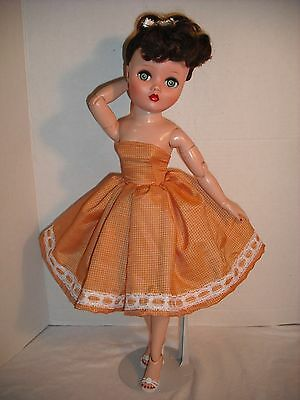 "NEW QUALITY Vintage Repro Dress Fits 19/"" 20/"" Uneeda Dollikin Fashion Doll By OTM"