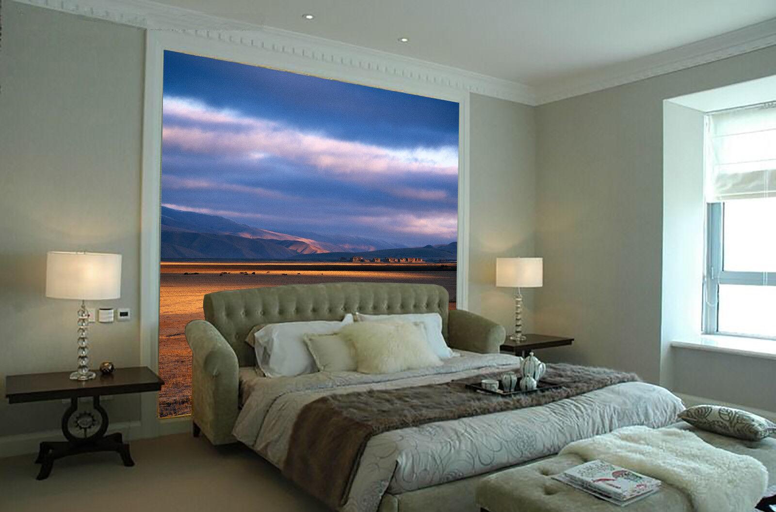 3D Früher Winter Prärie 864 Tapete Wandgemälde Tapete Tapeten Bild Familie DE  | Good Design  | Louis, ausführlich  | Starker Wert