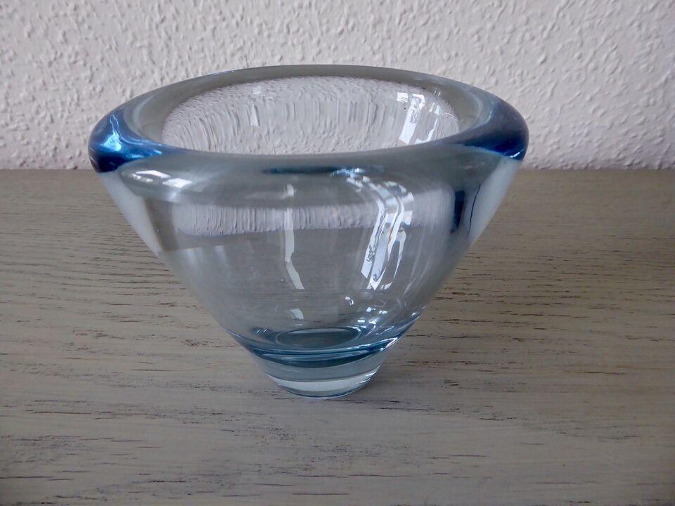Glas, Vase, Holmegaard Lütken