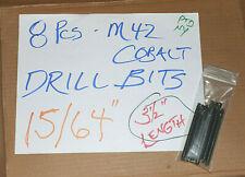 8 Pcs 1564 2344 Split Point Cobalt Drill Bits Tap Drill For 14 28