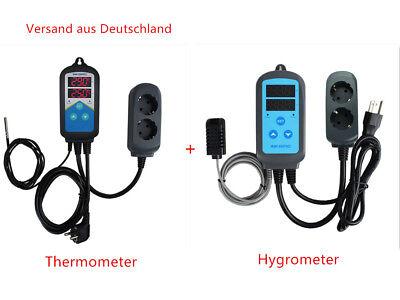 Hygrometer IHC-200 DE INKBIRD Nur Heizung Temperaturregler Mit Timer ITC-306T