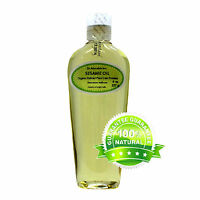 Organic Pure Sesame Oil Cold Pressed Organic Free Shipping