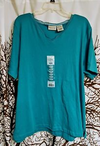 White-Stag-Brand-Blue-Top-Brand-New-With-Tags-Women-039-s-Plus-Size-18w-20w