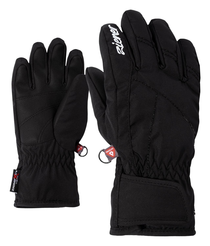 Ziener Mädchen Ski Handschuh LATI AS® PR GIRLS black
