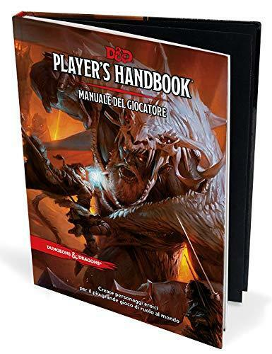 D&D 5.0 Next Dungeons & Dragons Manuale del Giocatore ITALIANO NUOVO  NSF3