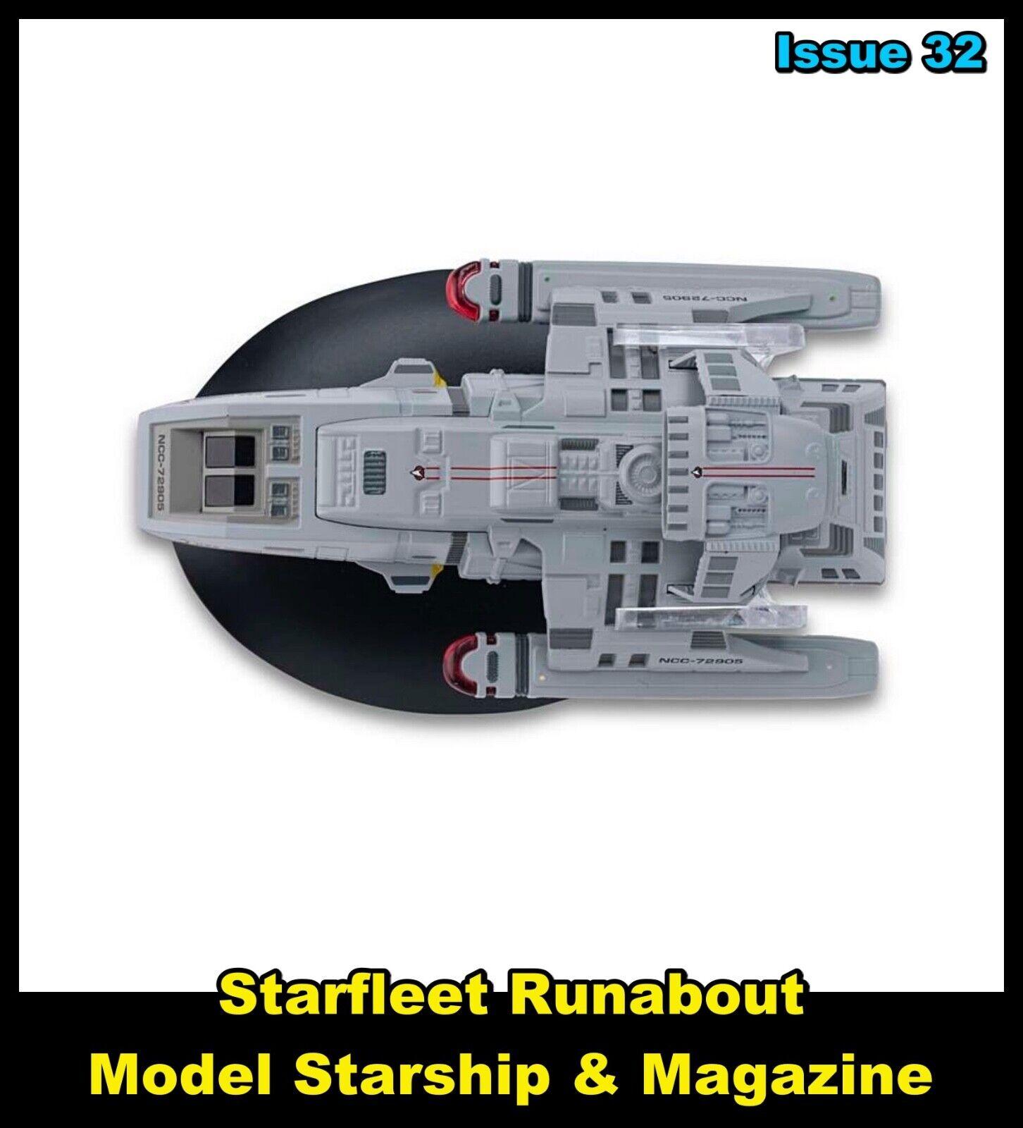 Issue 32: Starfleet Runabout