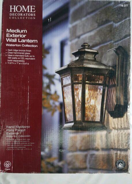 Tuin En Terras Home Decorators Collection 1 Light 24 Bronze Outdoor Wall Lantern 1003 540 175 Ca Viettel Vn