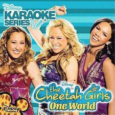 Disney's Karaoke Series: One World * by The Cheetah Girls (CD, Sep-2008, Walt Di