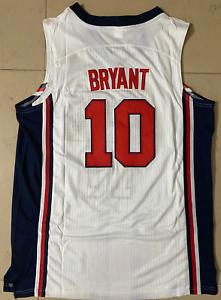 Throwback-1992-USA-Kobe-Bryant-10-Basketball-Jerseys-Stitched-Kobe-Jerseys