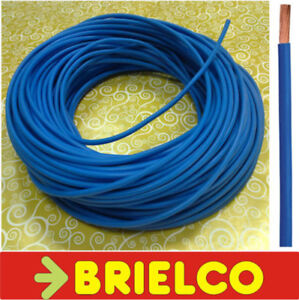 Cable Electrico Flexible Unipolar 1x4mm2 D.ext4.2mm Energia Azul 100m Bd10072