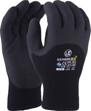 UCI ICETHERM-BLK Thermal Insulated HPT Coated Cold Work Gloves Winter Freezer