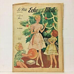 The-Petit-Echo-de-La-Fashion-No-No-51-18-December-1949-Old-Magazine-French