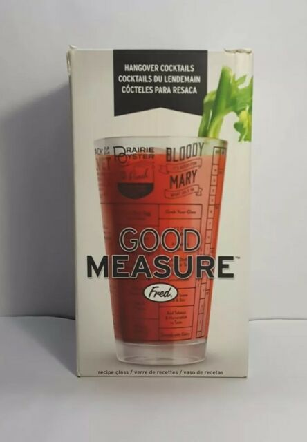 Whiskey 5192625 Fred GOOD MEASURE Cocktail Recipe Glass