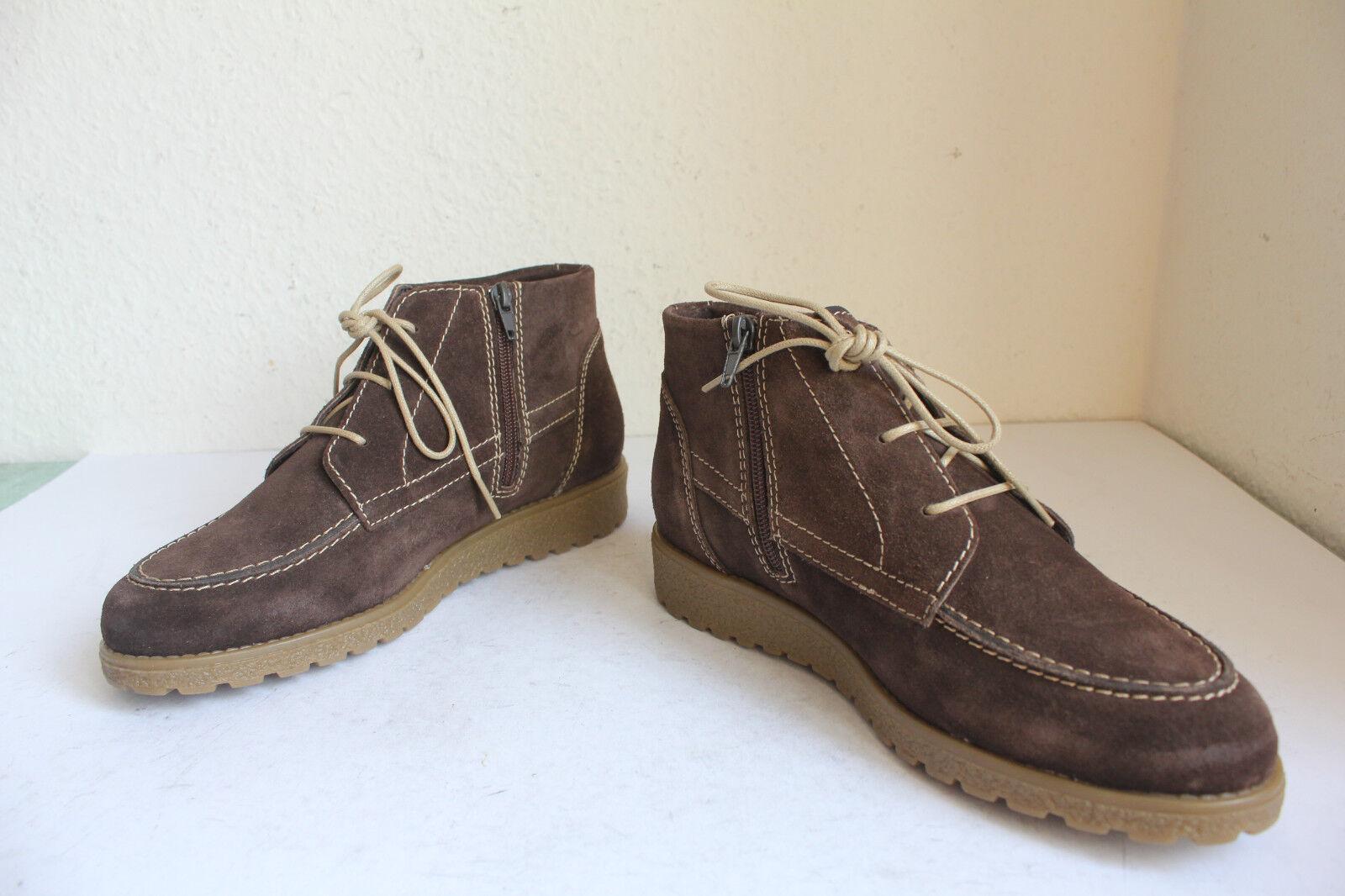 Filipe zapatos elegante schnürbotasetten botas de gamuza marrón eu 40 --- como nuevo