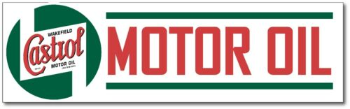 CASTROL MOTOR OIL SUPER HIGH GLOSS OUTDOOR 16 INCH DECAL STICKER