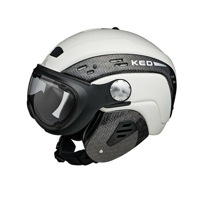 Ked-top visor-color   white-size  s m (52-56cm)  come to choose your own sports style