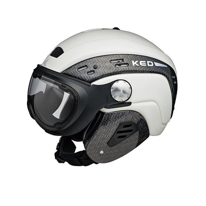 KED - Major Visor - Farbe  white - Größe  M (55 - 59 cm)