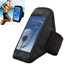 Running Sports Gym Armband Case For Samsung Galaxy S6 / S6 Edge w/Key Pouch