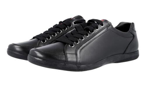 5 Sneaker Luxus 4e2439 Schuhe Schwarz 43 43 New Neu 9 Prada gy6Ybf7