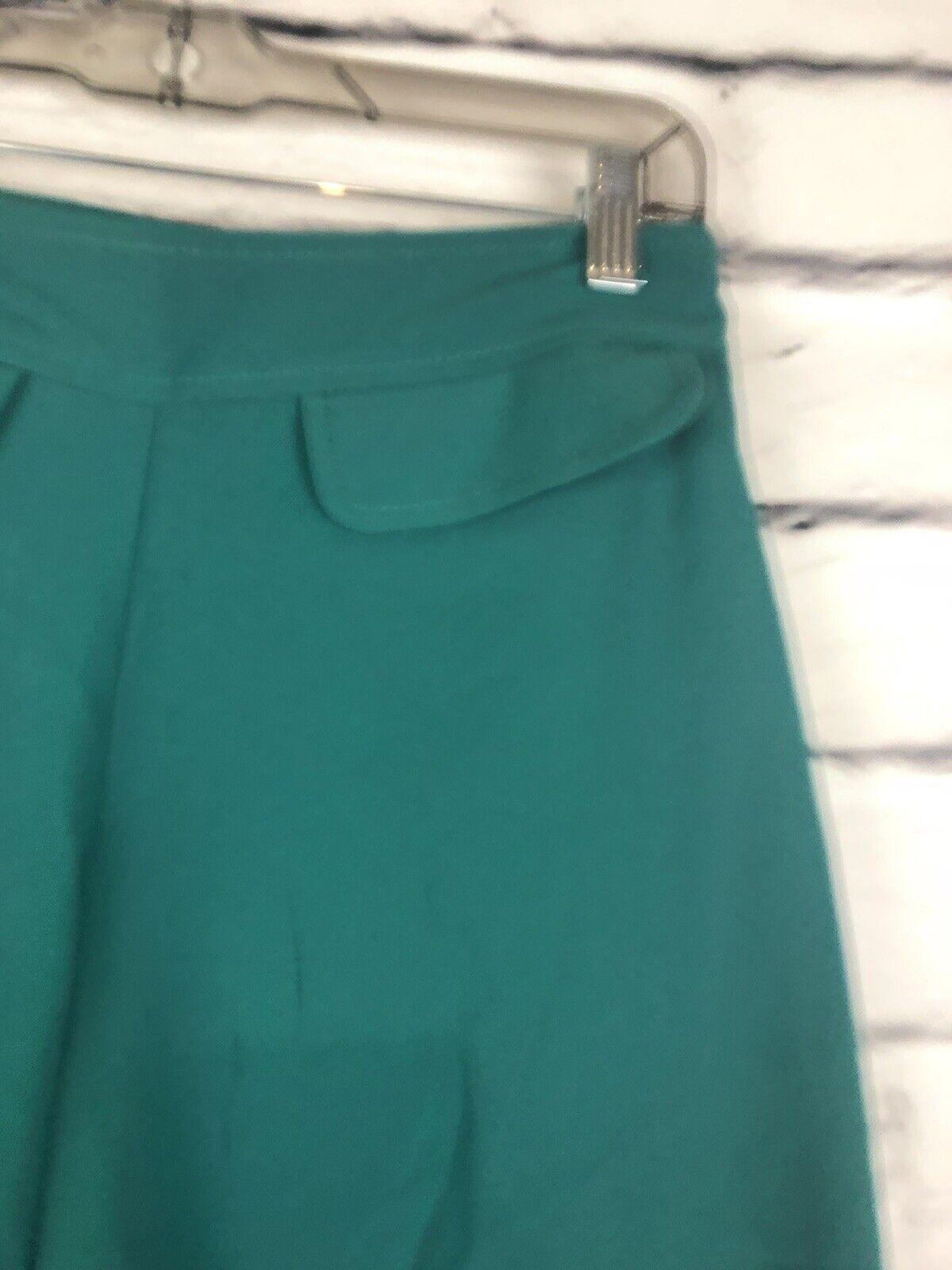 Trina Turk Womens Teal Size 12 Gaucho Pants  - image 4
