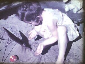 Technik & Photographica 16mm Farbfilm Um 1938 Privatfilm Kind Im Pool #34 Hoher Standard In QualitäT Und Hygiene