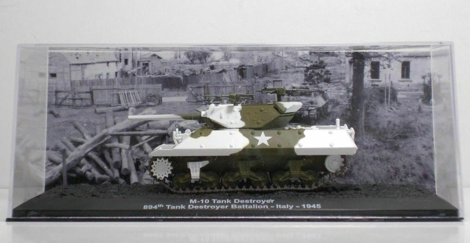 M-10 Tank Destroyer 894th Tank Destroyer Battalion - (1945) - Metal1 72