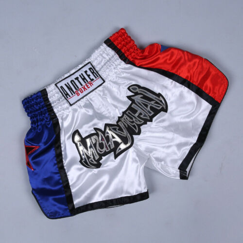 Anotherboxer Men Women MMA Muay Thai Boxing Shorts Grappling Martial Arts Trunks