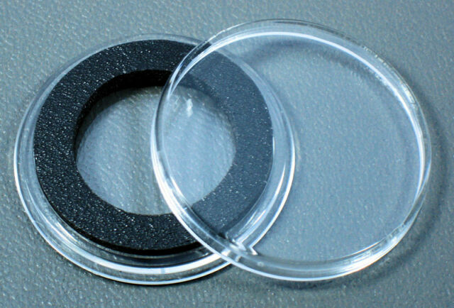 15 Air-tite 22mm White Ring Coin Holder Capsules for 1//4oz American Gold