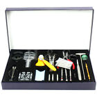 155 Pcs Watchmaker Watch Repair Tool Kit Back Case Opener Remover Spring Pin Bar